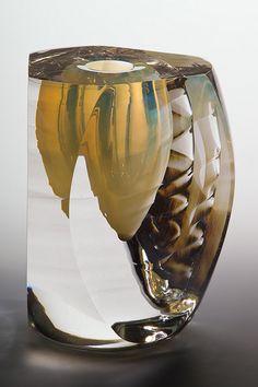 Jon Goldberg Art Glass Solar Spiral