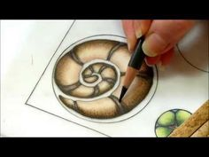 ▶ Color pencil tutorial, zentangle inspired art, color blending . Part two - YouTube