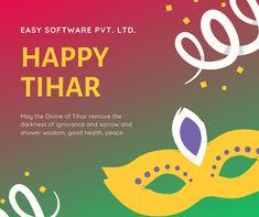 #EasySoftware The presence of light will keep darkness at bay.  शुभ दिपावली (तिहार) २०७६ को हार्दिक मंगलमय शुभकामना #HappyTihar2076 Software, How To Remove, Wisdom, Peace, Health, Happy, Health Care, Ser Feliz, Sobriety