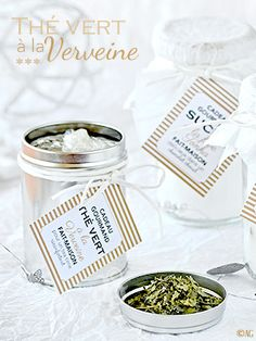 Sucre aromatisé à la fève tonka ou à la cardamome – Thé vert à la verveine ... Tech Gifts, Jar Gifts, Coffee Time, Anniversary Gifts, Cool Things To Buy, Unique Gifts, Birthday Gifts, Place Card Holders, Melting Pot