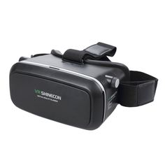 """CoastaCloud VR Virtual Reality Headset 3D VR Virtual Video Glasses for iPhone 6s 6 Plus Samsung Galaxy series 3.5""""-6"""" IOS Android Smart Phone. Enjoy your own portable cinema more convenient than 3D viewing glasses and better than Google cardboard. Revel into the world of VR. Watch 3D movies and play games while siting, standing, lying on the porch, at home, office, travel, beach, airplane. 360 virtual experience. Conveniently find virtual reality movies on the internet and apps on Apple..."""