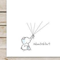 Elephant Baby Shower Guest Book Printable Pinterest Elephant