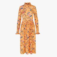 9a5b6a65784e Stine Goya Clarabelle floral long-sleeved dress
