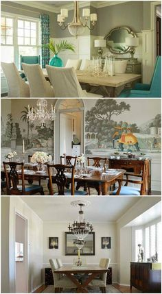 15 Ideas for Formal Dining Rooms      We all know that dining rooms are used everyday for more than three times a day because it is where we eat our meals and even our snacks. But aside from that function, it has to look good too in order to give a good aura to those using it especially if... #formaldiningroomideas