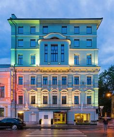 online hotel reservations in Golden Apple Boutique Hotel Light Architecture, Architecture Details, The 7th Guest, Facade Lighting, Lighting Design, Lobby Bar, Golden Apple, Stone Facade, Hotel Reservations