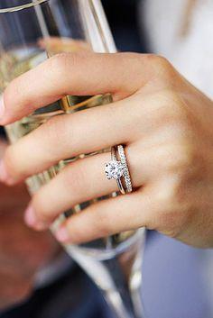 Best Diamond Wedding Rings For Real Women ❤ See more: http://www.weddingforward.com/diamond-wedding-rings/ #weddings