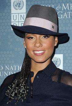 In 2014, Alicia Keys at the Social Good Summit at 92Y.