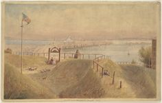 Boston from Dorchester Heights, 1836 | File name: 08_02_0038… | Flickr