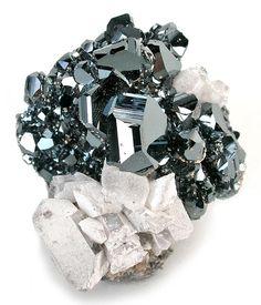 Hematite with Barite