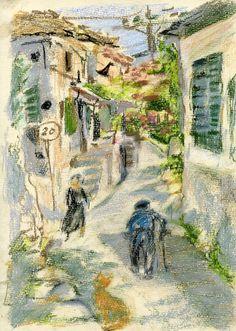Digital Download Image of Original pastel by Natvasclayandpaper