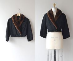 Veste Broadtail recadrée  manteau de fourrure par DearGolden