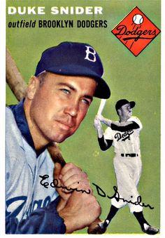32 - Duke Snider - Brooklyn Dodgers