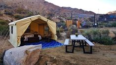 Hidden Passage Guest Ranch-Safari AirCottage - #4 - Tents for Rent in Morongo Valley, California, United States