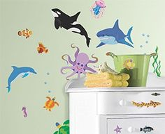 Awesome Ocean Wall Decals