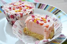 Angel Delight is popular with children and adults alike, so these little cakes could become a new family favourite! A layer of Madeira is hidden under a tempting strawberry Angel Delight and cream cheese topping. These no-bake cheesecakes can be made in just a few moments and are a great way of getting young children involved in the kitchen.