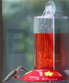 Perky Pet Acrylic Window Hummingbird Feeder, 9 oz. at BestNest.com
