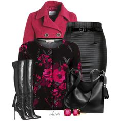 #3683 by christa72 on Polyvore featuring Precis Petite, Coach and Lab