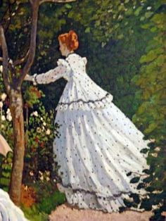 Paris -Musée d'Orsay -Claude Monet -femmes au jardin