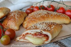 Quiches, Italian Hot Dog, Empanadas, Sweet Cooking, Sicilian Recipes, Savoury Baking, Snacks, Street Food, Appetizer Recipes