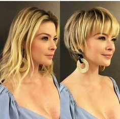 Easy Hairstyles For Thick Hair, Stylish Short Haircuts, Bob Hairstyles, Short Thin Hair, Short Hair Cuts, Short Hair Styles, Pixie Cuts, Short Pixie, Longer Pixie Haircut