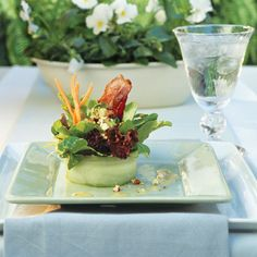 Add a sophisticated touch to your lawn party menu with these simple tips and tricks from myrecipes.com