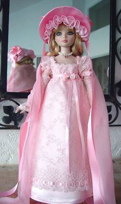 Regency Gown for Ellowyne by Little Charmers via eBay ends 11/1/14