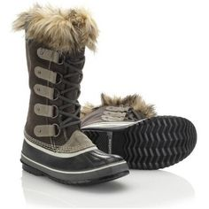 The now classic silhouette of the Sorel Women's Joan Of Arctic Boot. #style #fashion