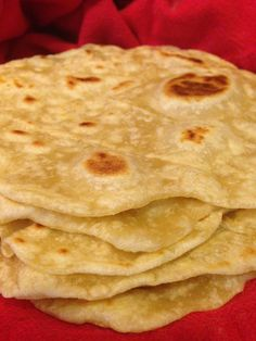 Easy Homemade Tortillas - No Lard