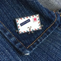 enamel pins by queeniescards.com