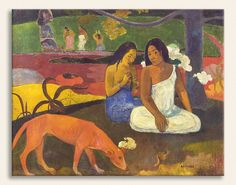 Paul Gauguin, Arearea, Tarih: 1890