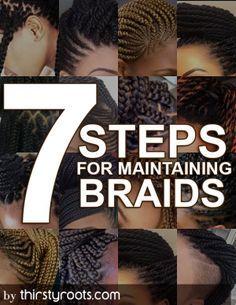 maintaining braids