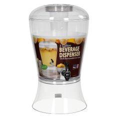 Creative Bath 3 gal. Acrylic Beverage Dispenser With Ice Core - Beverage Servers at Hayneedle