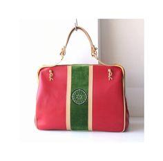 vintage Roberta Di Camerino leather velvet Bag by hfvin on Etsy  #RobertaDiCamerino #velvet #tote #handbag #hfvin