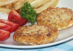 Nikol Od Kuchni: Burgery Rybne (z Łososia)