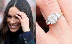 Meghan Markle Engagement Ring, Royal Engagement Rings, Celebrity Engagement Rings, Wedding Engagement, Wedding Bands, Meghan Markle Wedding Ring, Solitaire Engagement, Meghan Markle Ring, Celebrity Rings