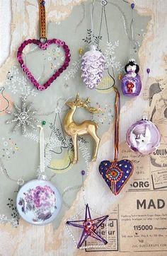 pink & grey | Xmas decoration . Weihnachtsdekoration . décoration noël | Design @ House Doctor |