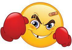 Boxer emoticon | emoticones | Pinterest | Boxers, Emoticon and Smiley