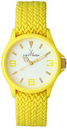 ToyWatch with bright yellow.catch others' eyes at the first moment while he/she is looking at you .hovering in one's memory for a long time .