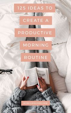 Ideas To Create A Productive Morning Routine Ideas on what you can do before work for a productive day.Ideas on what you can do before work for a productive day. Evening Routine, Night Routine, Morning Routines, Daily Routines, Daily Routine Schedule, Routine Work, Skin Routine, Yoga Routine, Good Habits
