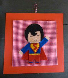 """Quadretto """"Superman"""""""