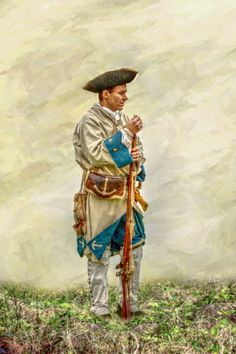 """""""French Soldier, French And Indian War,"""" by Randy Steele"""