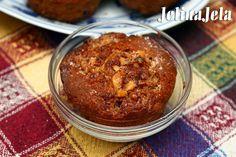 Jelina jela: Znam te u dušu Zucchini muffins with nuts and cranberries #muffins #zucchinimufffins #nuts #cranberries