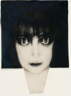 Portrait of Marchesa Casati (1922)  by Man Ray