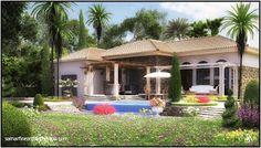 Summer Fouad Egyptian Architect: villa design