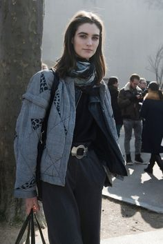 Paris Fashion Week Fall 2013 Models