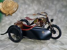 MOTORCYCLE 74: Art deco motorcycle