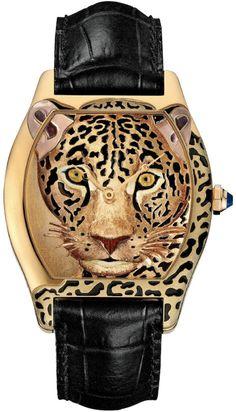 Cartier Leopard Watch                                                                                                                                                                                 Más