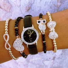 Love the owl bracelet