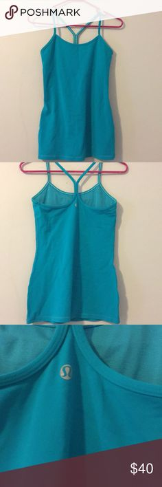 Lulu lemon Power Y tank Like new - perfect condition.  Maybe worn once or twice.  I just decided I didn't link the fit on me and it's been sitting in my closet.  Pet free / smoke free home lululemon athletica Tops Tank Tops