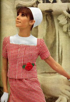 1966 Patou style, love this style